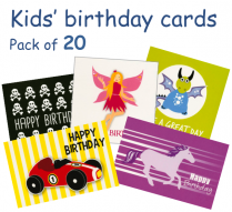 Kids' birthday pack C