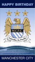 Manchester City crest & stadium