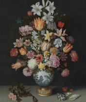 Flowers in Wan-Li Vase