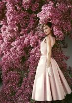 Audrey Hepburn, Vogue, 1955