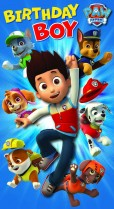 Paw Patrol - Birthday Boy