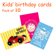 Kids' birthday pack A