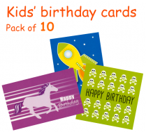 Kids' birthday pack B