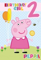 Peppa Pig birthday girl 2