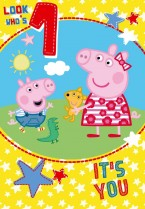 Peppa Pig Look Who's 1!