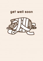 Get well Pusheen