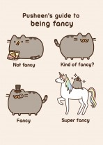 Being fancy