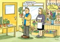 Prickly customer