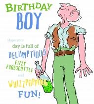 Roald Dahl's BFG 'Birthday boy'