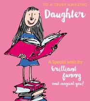 Roald Dahl's Matilda 'Amazing daughter'