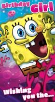 SpongeBob birthday girl