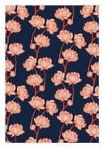Blossom on navy