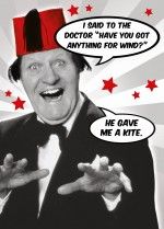 Tommy Cooper - wind