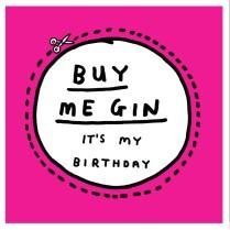 Buy me gin