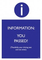 You passed!