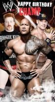 WWE Happy Birthday Champ!