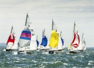 X-Yachts with spinnakers