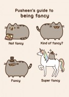 Being fancy