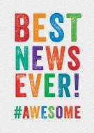 Best news ever!